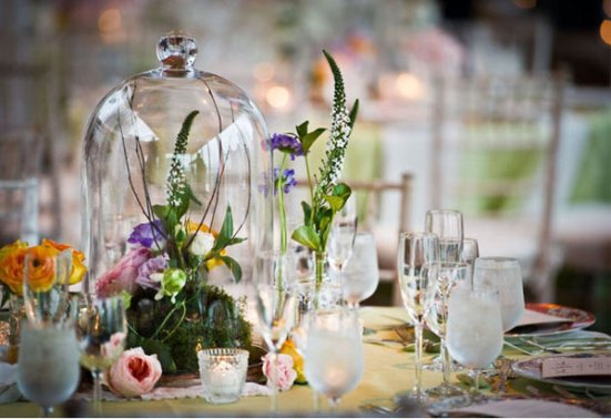 Floristry Courses Tablescaping - Glass Cloche  by My Flowerhouse - Flowerschool