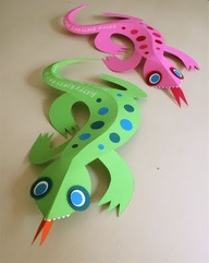 Kids Activities Leaping Lizards - Ages 4-12yrs by The Art Factory