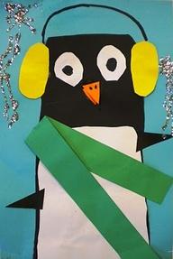 Kids Activities Kids Art Workshop Malvern Studio - Penguin Canvas by The Art Factory