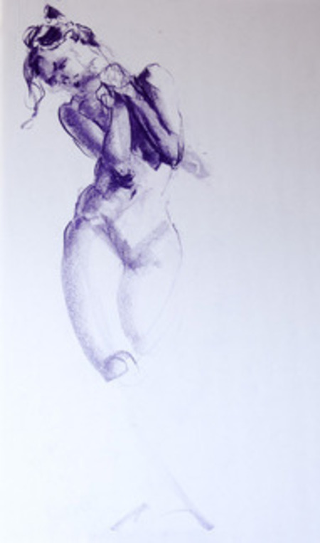 Art Classes Life Drawing and Portraiture 6-Week Course (Tuesday Evenings) by The Studio School of Creative Drawing
