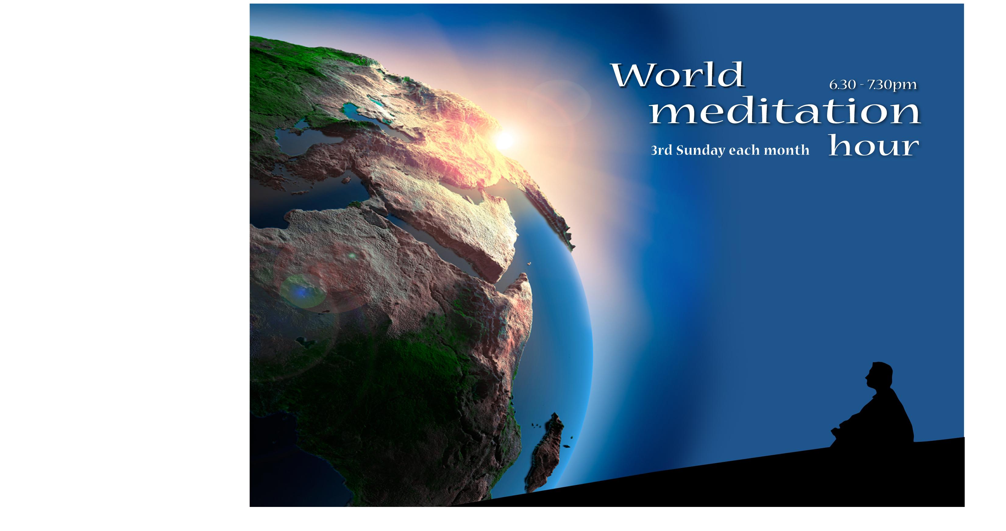 Fitness & Health Classes World Meditation Hour - Join 9,000 BK Centres in guided meditation by Brahma Kumaris Australia