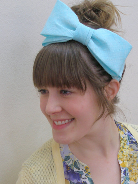 Craft Classes Bow Making Workshop by Julie Fleming Milliner