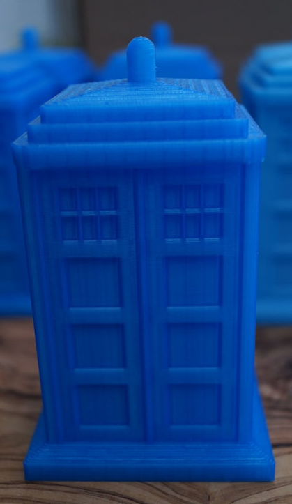 IT Courses 3D Printing Dr. Who Special at Boyd by The Robots Are Coming