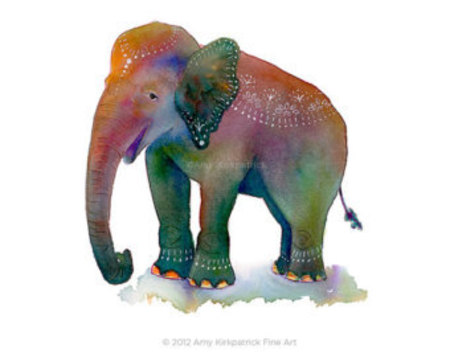 Kids Activities Kids Workshop - Indian Elephants - Ages 8-12yrs Malvern Studio by The Art Factory