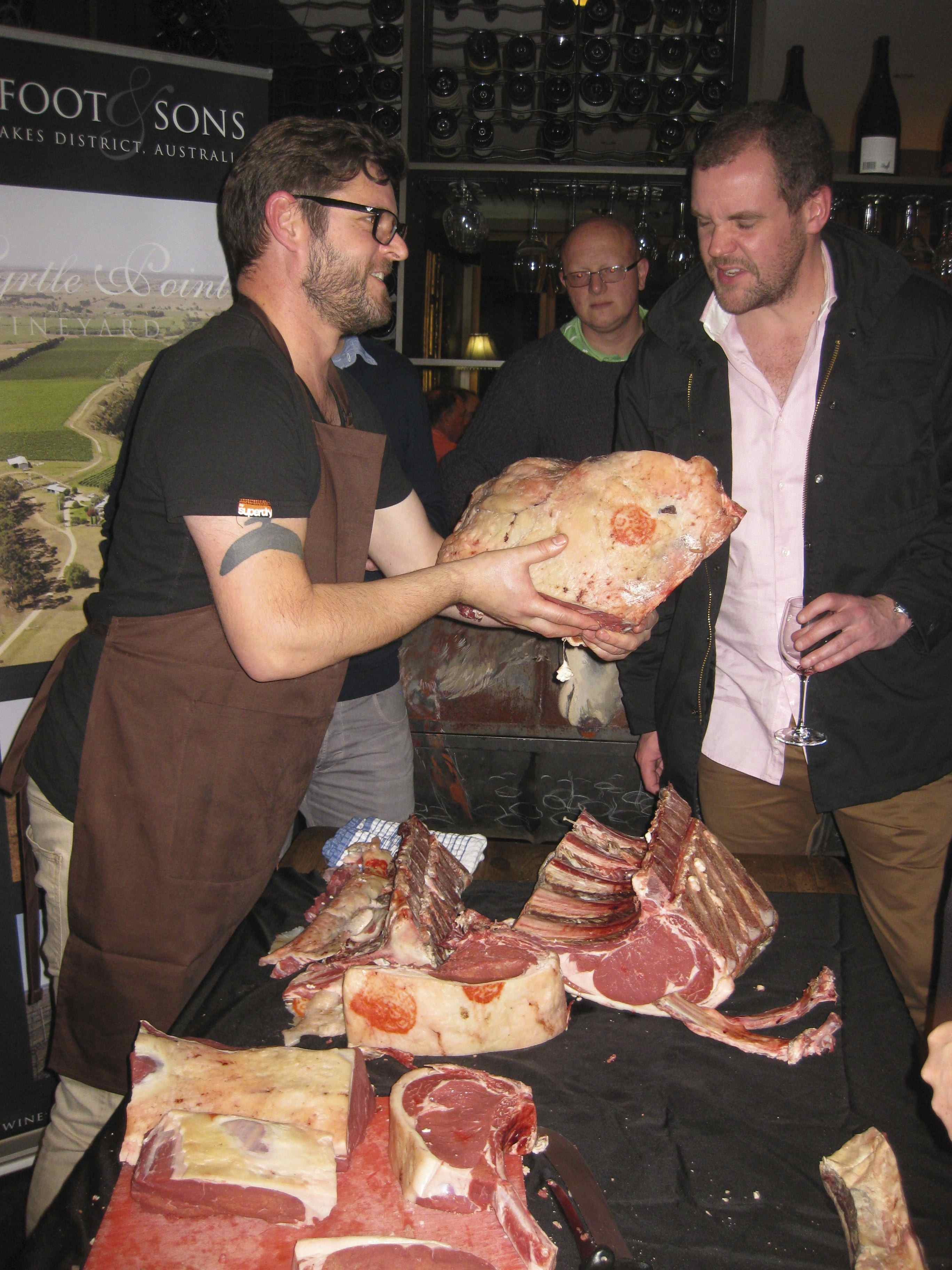 Cooking Classes Dry Aged Beef Butchery Masterclass by The Royal Mail on Spencer