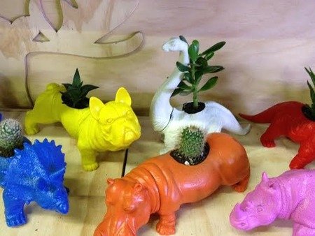 Kids Activities Super Cool Animal Plant Pots by Artea Art School Community and Party Venue