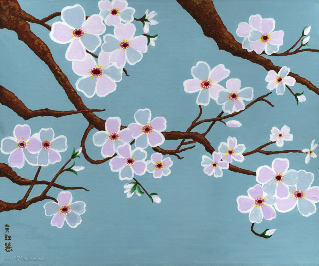 Kids Activities Spring Blossom Painting 6-12yrs by The Art Factory