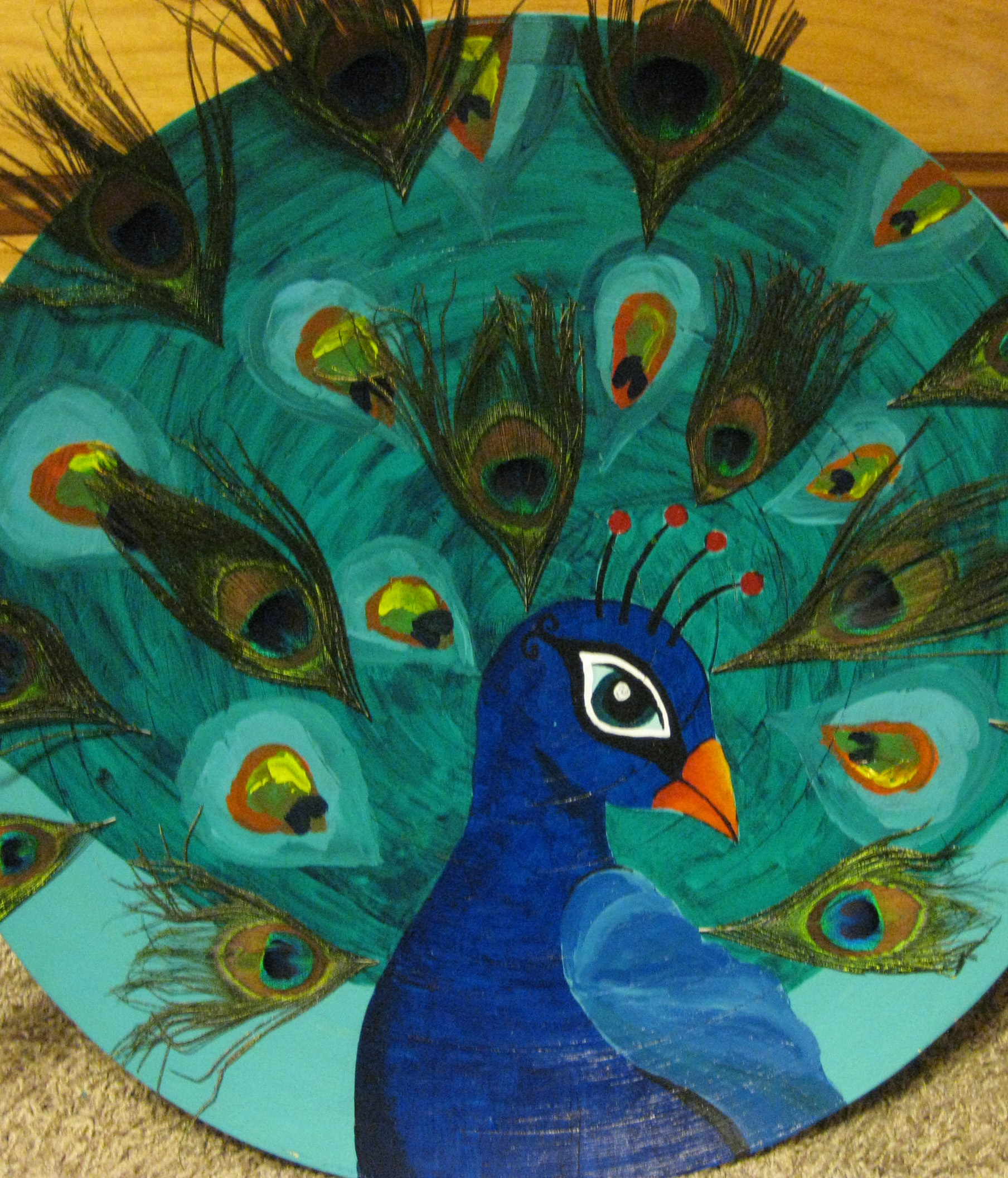 Kids Activities Colorful Peacocks by Artea Art School Community and Party Venue