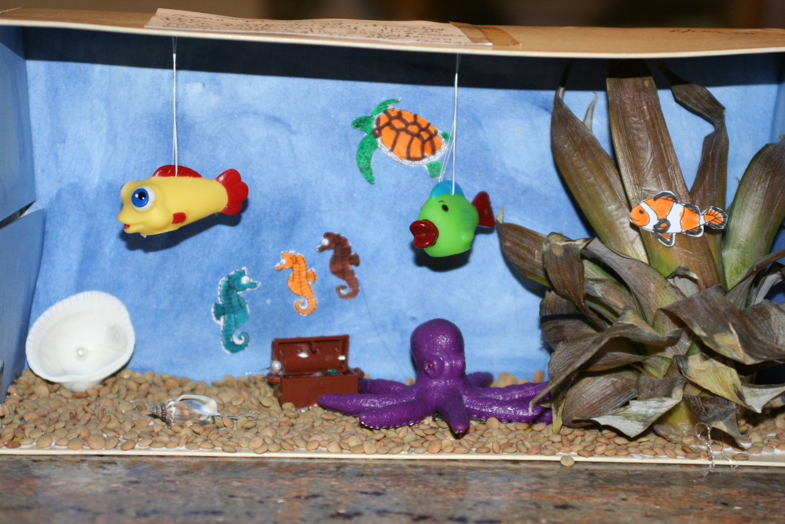 Kids Activities Under the Sea Diorama by Artea Art School Community and Party Venue