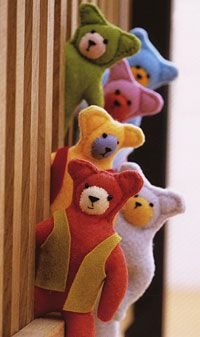 Kids Activities Felt Teddy Bear by Artea Art School Community and Party Venue