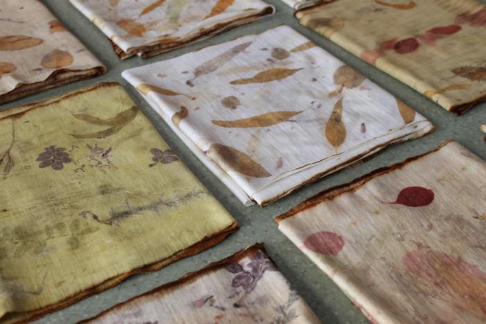 Eco Printing & Natural Dyeing at Handmaker's Factory (Photo Credit to Birgit Moffatt)