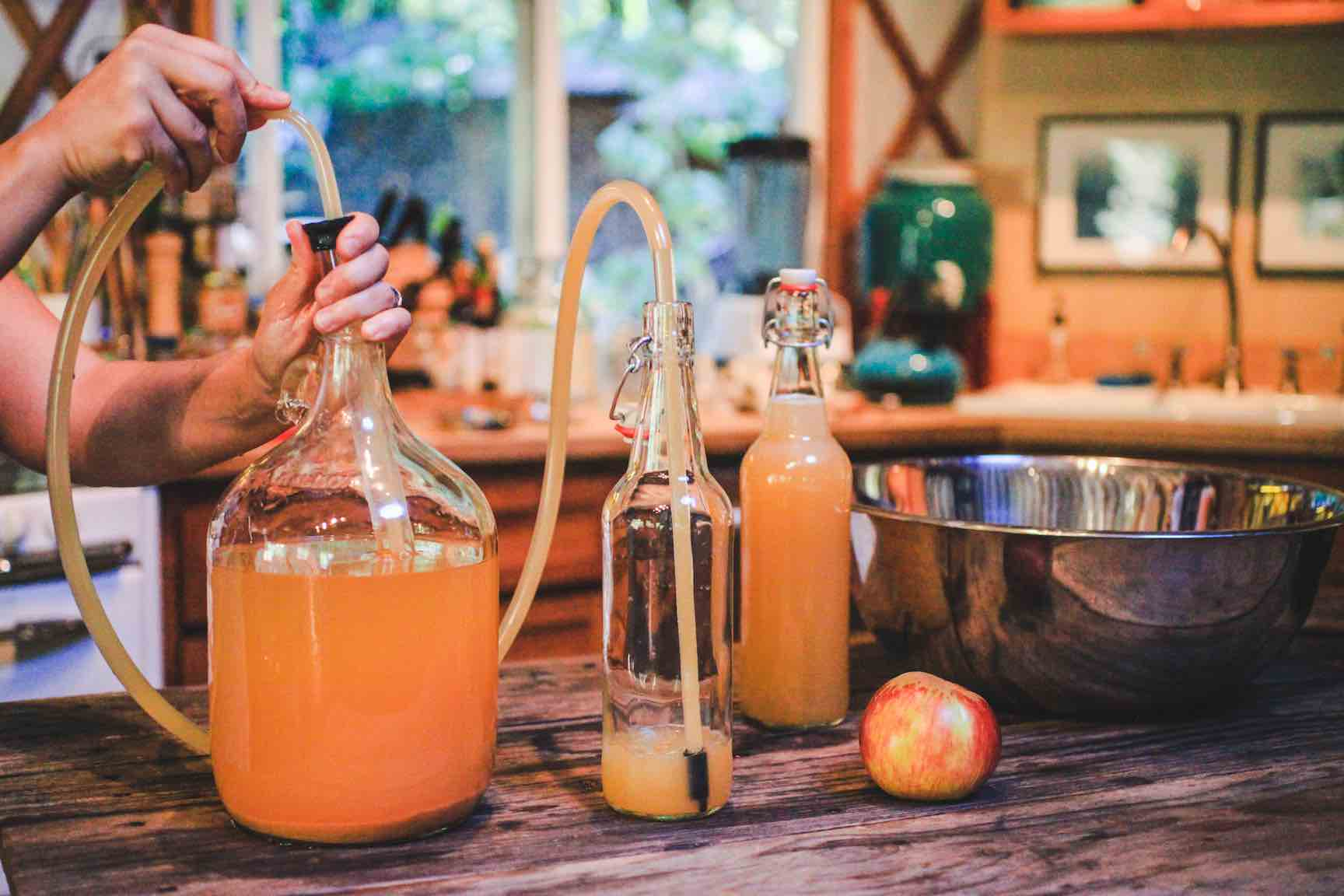 Cider Brewing from Scratch with Stefano Baggio at The Artisan's Bottega (Photo Credit to Mountain Feed)
