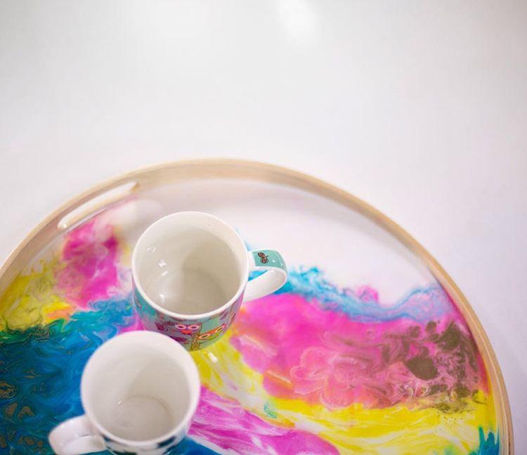 Resin Homewares Tea Tray Masterclass with Candu Creative