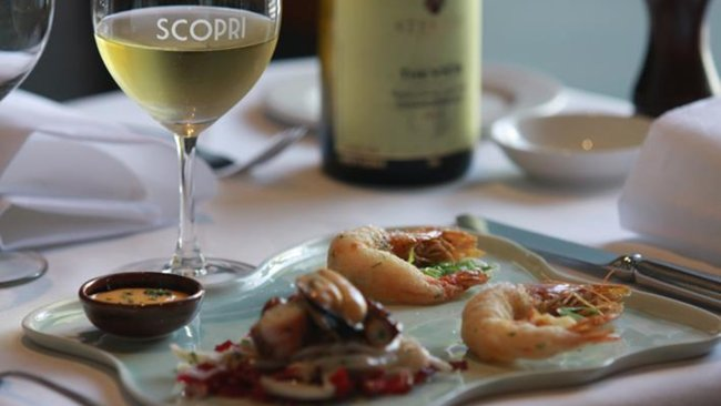 Winemaker's Dinners at Scopri with Fine Wine Appreciation