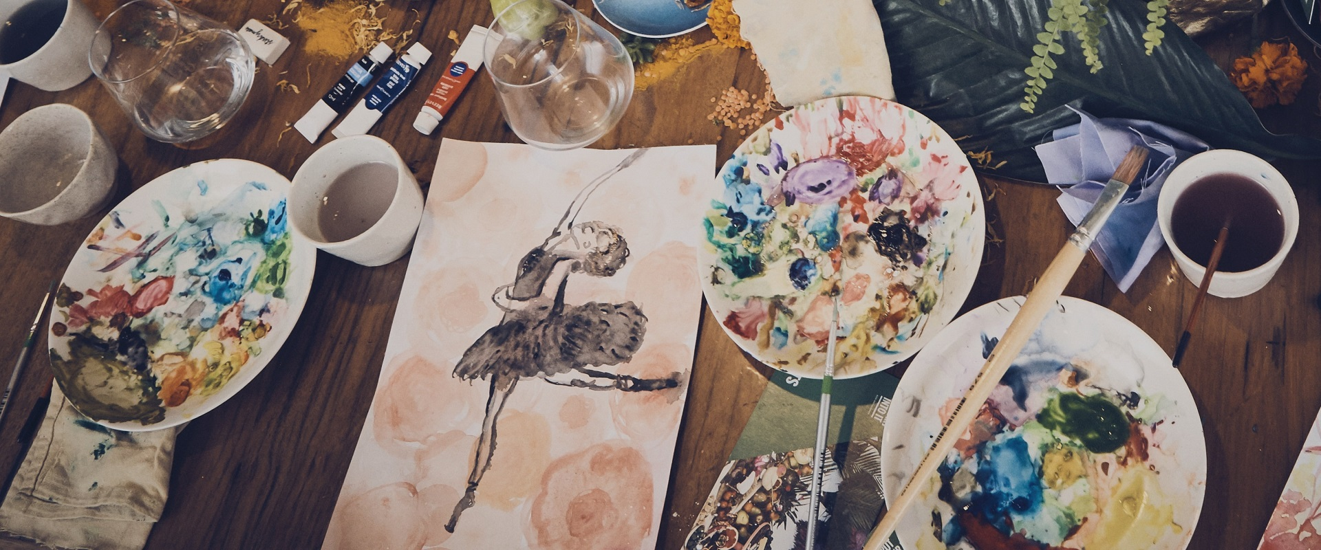 Explore the Magic of Watercolours